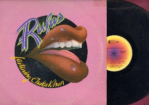 Rufus featuring Chaka Khan - Rufus Featuring Chaka Khan: Jive Talkin', Dance With Me, Fool's Paradise (vinyl STEREO LP record) - EX8/VG6 - LP Records
