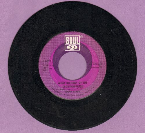 Ruffin, Jimmy - What Becomes Of The Brokenhearted/Baby I've Got It - EX8/ - 45 rpm Records