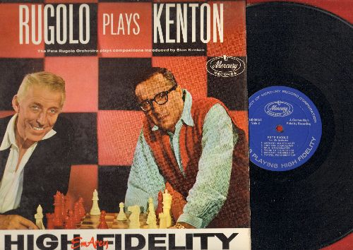 Rugolo, Pete - Rugolo Plays Kenton: Artistry In Boogie, Painted Rhythm, Opus In Pastels, Sunset Tower (Vinyl MONO LP record) - NM9/EX8 - LP Records
