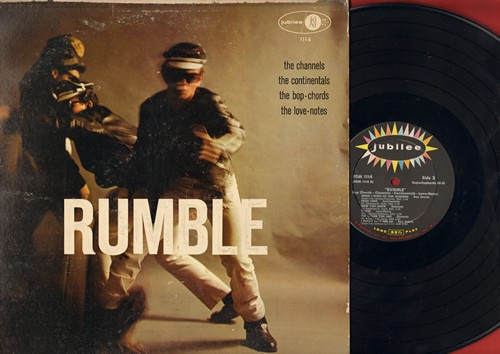 Bop-Chords, Channells, Continentals, Love-Notes - Rumble -- Bob-Chords vs. Channels vs. Continentals vs. Love-Notes: Castle In The Sky, The Gleam In Your Eye, Fine Fine Frame, If I Could Make You Mine, Dear Lord, Ireally Love Her So (multicolor vinyl LP r