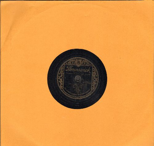Sims, Lee - I Wish I Could Shimmy Like My Sister Kate/St. Louis Blues (10 inch 78 rpm record) - VG7/ - 78 rpm