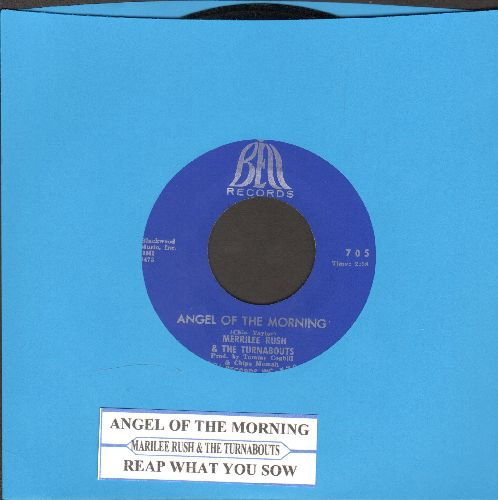 Rush, Merrilee - Angel Of Morning/Reap What You Sow (with juke box label) - EX8/ - 45 rpm Records