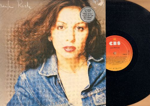 Rush, Jennifer - Jennifer Rush: The Power Of Love (6 minute version!), Ring Of Ice, Come Give Me Your Hand, 25 Lovers (vinyl STEREO LP record, German Pressing, sung in English) - NM9/VG7 - LP Records