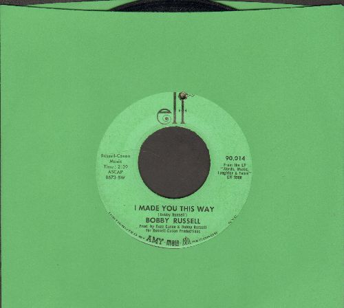Russell, Bobby - I Made You This Way/Dusty (bb) - EX8/ - 45 rpm Records