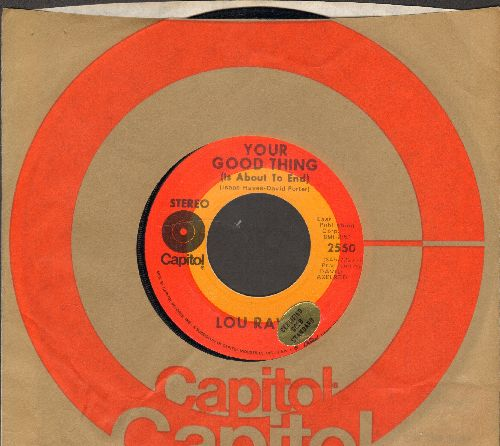 Rawls, Lou - Your Good Thing (Is About To End)/Season Of The Witch (with Capitol company sleeve) - NM9/ - 45 rpm Records
