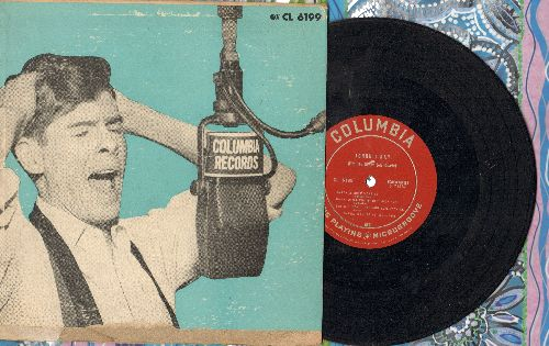 Ray, Johnnie - Johnnie Ray: All Of Me/Walking My Baby Back Home/The Lady Drinks Champagne/Don't Blame Me+4 (10 inch vinyl LP record with picture cover) - VG6/VG6 - LP Records