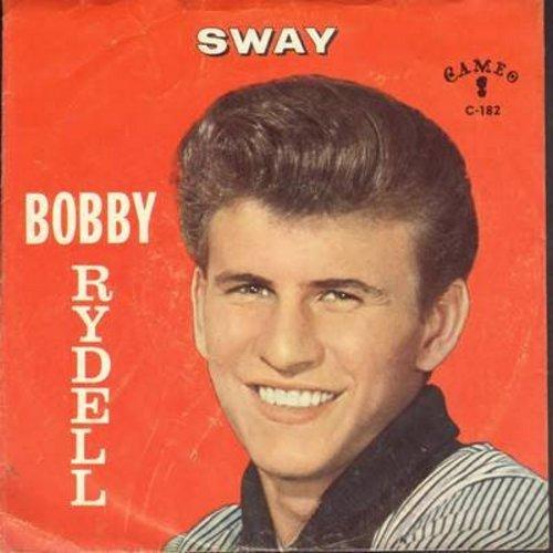 Rydell, Bobby - Sway/Groovy Tonight  - EX8/VG7 - 45 rpm Records