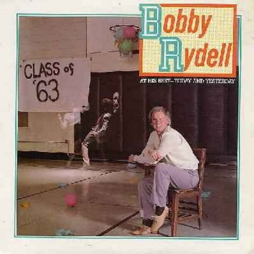 Rydell, Bobby - At His Best - Today And Yesterday: Dream Lover, Wild One, Forget Him, Volare, This Magic Moment, Kissin' Time (Vinyl STEREO LP record, 1983 issue) - EX8/NM9 - LP Records