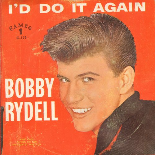 Rydell, Bobby - Volare/I'd Do It Again (with picture sleeve) - EX8/VG6 - 45 rpm Records