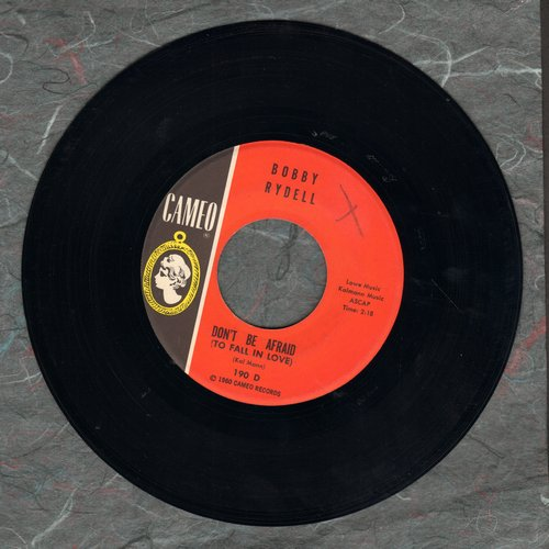 Rydell, Bobby - That Old Black Magic/Don't Be Afraid (To Fall In Love) - EX8/ - 45 rpm Records