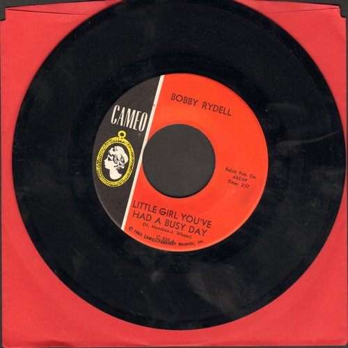 Rydell, Bobby - Little Girl You've Had A Busy Day/Make Me Forget - EX8/ - 45 rpm Records