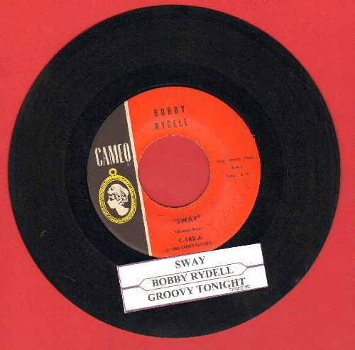 Rydell, Bobby - Sway/Groovy Tonight (with juke box label) - EX8/ - 45 rpm Records
