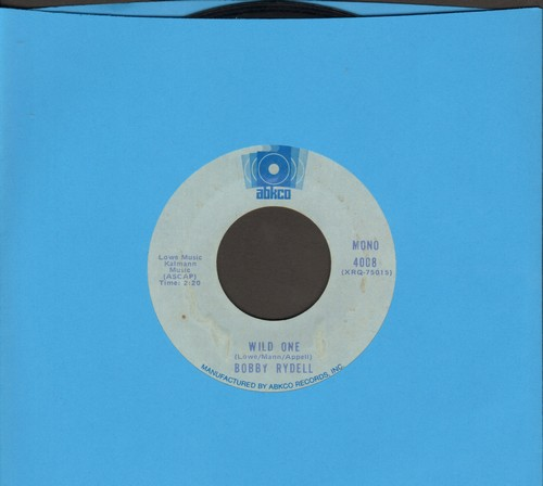 Rydell, Bobby - Wild One/Swinging School (double-hit re-issue) - VG7/ - 45 rpm Records
