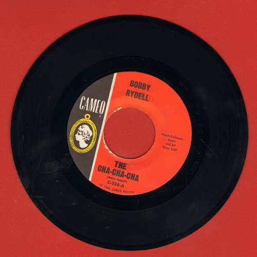 Rydell, Bobby - The Cha Cha Cha/The Best Man Cried (with juke box label)  - EX8/ - 45 rpm Records