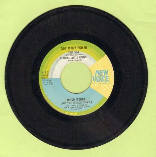 Ryder, Mitch & The Detroit Wheels - Too Many Fish In The Sea/One Grain Of Sand - VG7/ - 45 rpm Records