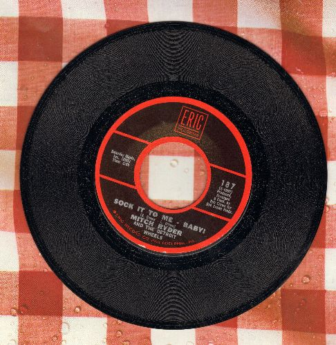 Ryder, Mitch & The Detroit Wheels - Sock It To Me - Baby!/Walkin' My Cat Named Dog (by Norma Tanega on flip-side) - NM9/ - 45 rpm Records