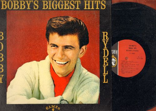 Rydell, Bobby - Bobby's Biggest Hits: Kissin' Time, We Got Love, Wild One, Swingin' School, Volare, Sway, Groovy Tonight (Vinyl MONO LP record, TWO-dimensional gate-fold cover)  - EX8/VG7 - LP Records