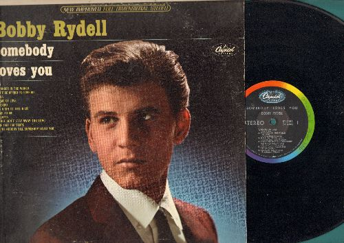 Rydell, Bobby - Somebody Loves You: Diana, You're Nobody Till Somebody Loves You, Theme Of Love, Time Out For Tears (Vinyl STEREO LP record)  - NM9/EX8 - LP Records
