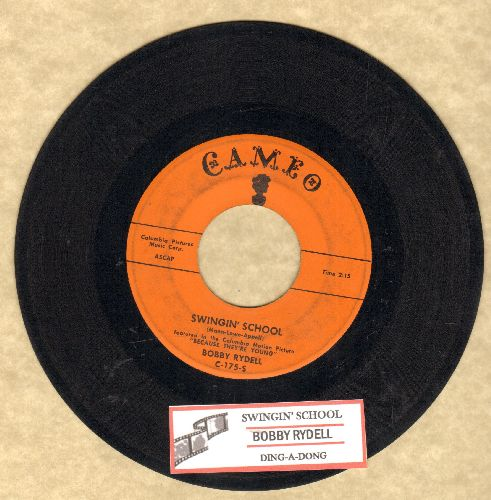 Rydell, Bobby - Swingin' School/Ding-A-Ling (with juke box label) - EX8/ - 45 rpm Records
