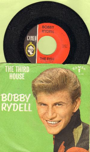 Rydell, Bobby - The Fish/The Third House (with picture sleeve) - NM9/EX8 - 45 rpm Records