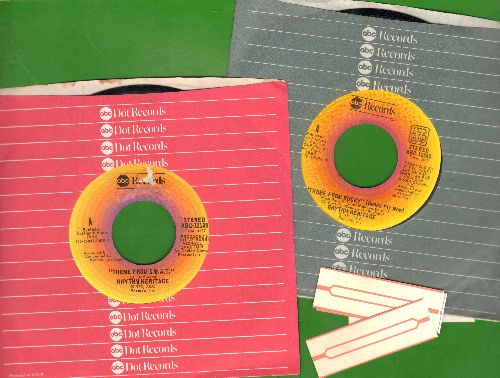 Rhythm Heritage - 2 for 1 Special: Theme From S.W.A.T./Theme From Rocky (2 vintage first issue 45rpm records with company sleeves for the price of 1!) - NM9/ - 45 rpm Records
