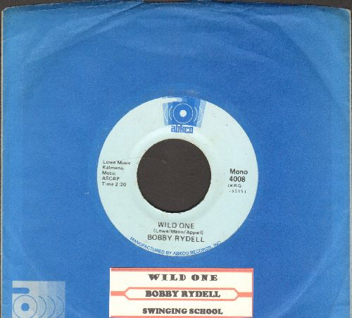 Rydell, Bobby - Wild One/Swinging School (double-hit re-issue with juke box label and Abkco company sleeve) - NM9/ - 45 rpm Records