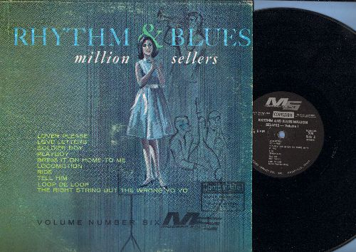 Rhythm & Blues Million Sellers - Rhythm & Blues Million Sellers Vol. 6: Lover Please, Soldier Boy, Locomotion, Tell Him, Ride (Vinyl LP record) - EX8/VG7 - LP Records