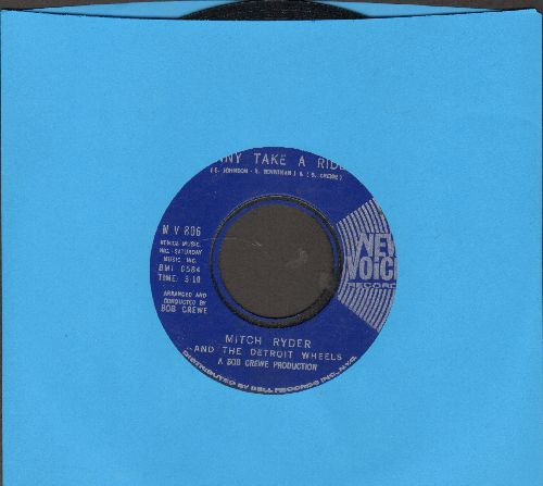Ryder, Mitch & The Detroit Wheels - Jenny Take A Ride!/Baby Jane (Mo-Mo Jane) (sol) - NM9/ - 45 rpm Records