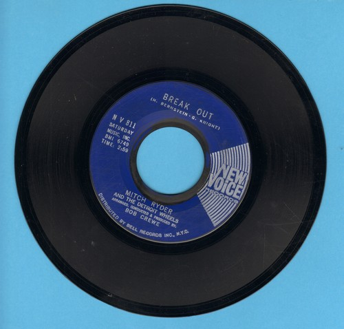Ryder, Mitch & The Detroit Wheels - Break Out/I Need Help - EX8/ - 45 rpm Records