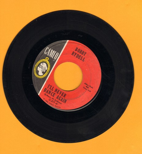 Rydell, Bobby - I'll Never Dance Again/Gee, It's Wonderful - EX8/ - 45 rpm Records