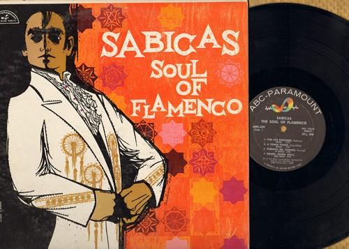 Sabicas - Soul Of Flamenco: Por Los Rincones, Salinas Del Puerto, Orgullo Flamenco, Claveles En Flor (Vinyl MONO LP record) - NM9/EX8 - LP Records