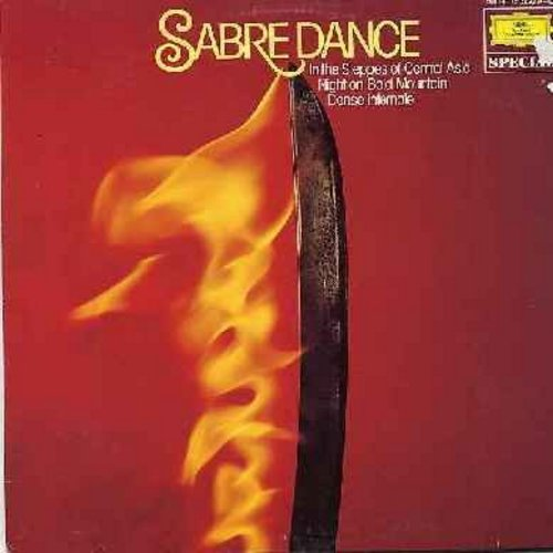 Leningrad Philharmonic Orchestra, Dresden Staatskapelle, Berlin Philharmonic Orchestra, others - Sabre Dance: Danse Infernale, The Great Gate Of Kiev, Marche Slave, In The Steppes Of Central Asia (Vinyl STEREO LP record, German Pressing) - NM9/EX8 - LP Re