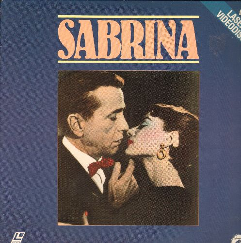 Sabrina - Sabrina - LASERDISC version of the Classic Oscar Winner starring Audrey Hepburn and Humphrey Bogart (NICE cover art of stars!) - NM9/EX8 - LaserDiscs