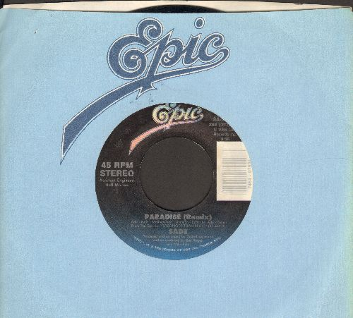 Sade - Paradie (Remix)/Super Bien Total (with Epic company sleeve) - EX8/ - 45 rpm Records