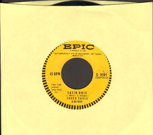Sagle, Chuck & His Orchestra - Satin Doll/Theme From -Rosemary- - EX8/ - 45 rpm Records