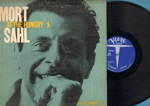 Sahl, Mort - Mort Sahl At The Hungry I - The Classic Stand-Up Comedy Debut LP (Vinyl MONO LP record) - EX8/VG6 - LP Records