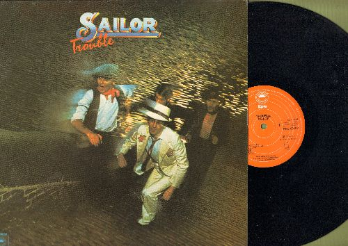 Sailor - Trouble: Girls Girls Girls, Glass Of Champagne, The Old Nickelodeon Song, Coconut, Panama (vinyl STEREO LP record, Made in Holland) - NM9/NM9 - LP Records