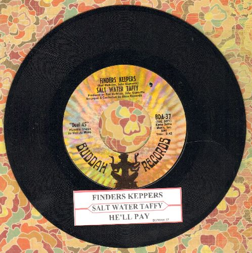 Salt Water Taffy - Finders Keepers/He'll Pay (FANTASTIC Bubblegum 2-sider, with juke box label) (bb) - NM9/ - 45 rpm Records