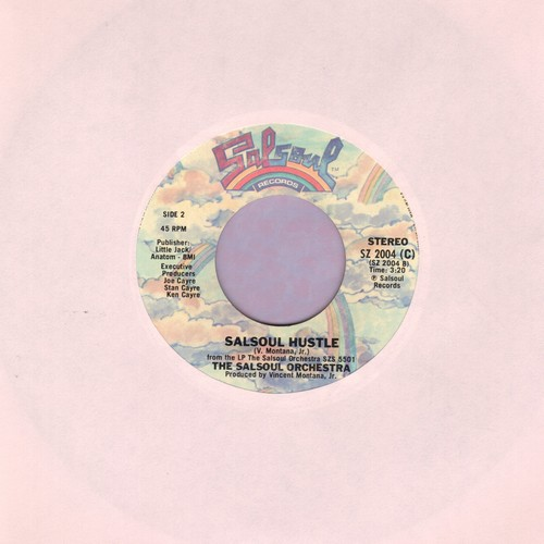 Salsoul Orchestra - Salsoul Hustle/Tangerine - EX8/ - 45 rpm Records