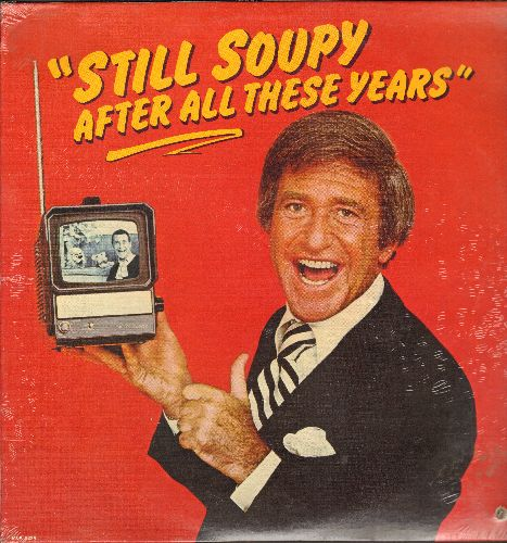 Sales, Soupy - Still Soupy After All These Years: My Ugly Sister-In-Law, Buddy Can You Spare An Aspirin, Gimme Some Skin, My father Wants His Dollar Back (Vinyl LP record, SEALED, never opened!) - SEALED/SEALED - LP Records