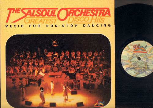 Salsoul Orchestra - Greatest Disco Hit: Salsoul Shuffle, Salsoul Rainbow, Don't Beat Around The Bush, Salsoul: 3001 (Vinyl STEREO LP record) - NM9/NM9 - LP Records