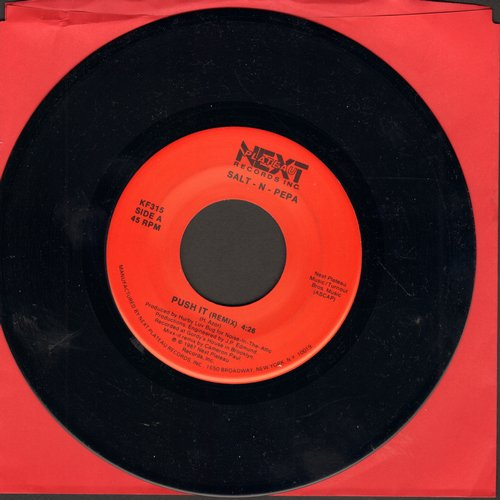 Salt N Pepa - Push It (double-A-sided DJ pressing) - NM9/ - 45 rpm Records