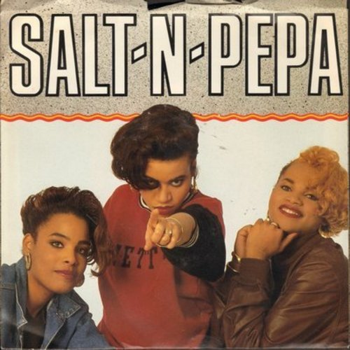 Salt-N-Pepa - Twist And Shout/Get Up Everybody (with picture sleeve) - NM9/EX8 - 45 rpm Records