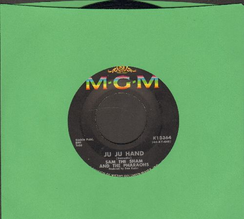 Sam The Sham & The Pharaohs - Ju Ju Hand/Big City Lights - EX8/ - 45 rpm Records