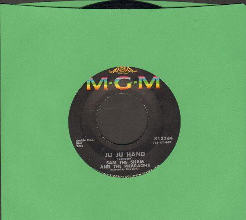 Sam The Sham & The Pharaohs - Ju Ju Hand/Big City Lights - EX8/ - 45 rpm Records