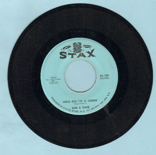 Sam & Dave - Hold On! I'm Comin'/I Got Everything I Need - EX8/ - 45 rpm Records
