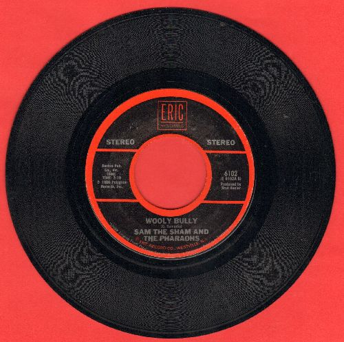 Sam The Sham & The Pharaohs - Wooly Bully/Li'l Red Riding Hood (early double-hit re-issue)  - NM9/ - 45 rpm Records