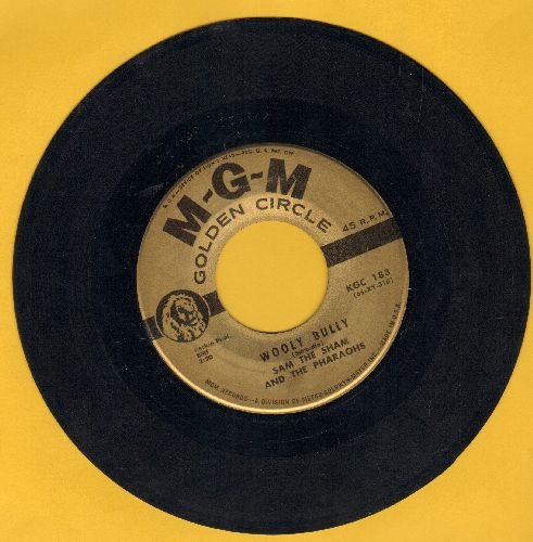 Sam The Sham & The Pharaohs - Wooly Bully/Ju Ju Hand (authentic-looking early re-issue) - EX8/ - 45 rpm Records