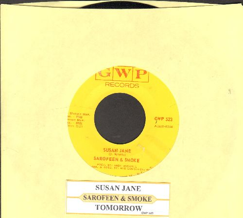 Sarofeen & Smoke - Susan Jane/Tomorrow (with juke box label) - EX8/ - 45 rpm Records