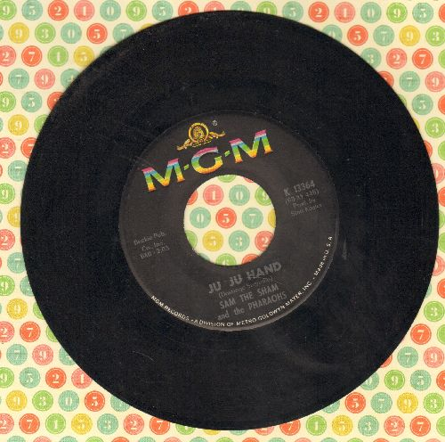 Sam The Sham & The Pharaohs - Ju Ju Hand/Big City Lights - VG7/ - 45 rpm Records